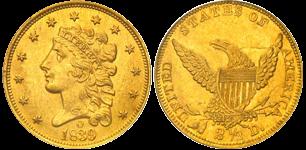 1839-O Quarter Eagle